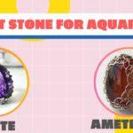 Lucky Stones for Aquarius