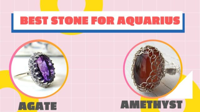 Lucky Stones for Aquarius are Agate and Amethyst | 2019