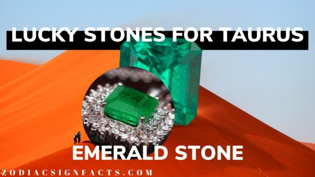 Best and Lucky Gemstone for Taurus is Emerald | 2019